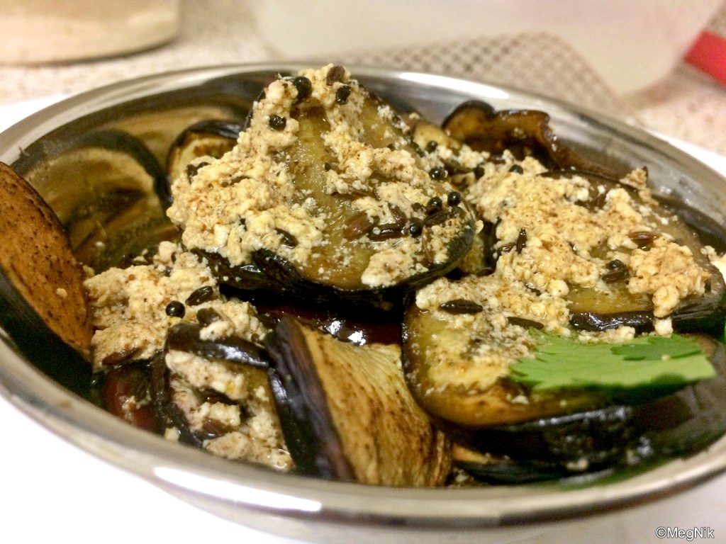 Dahi Baingan Eggplant Yogurt Curry