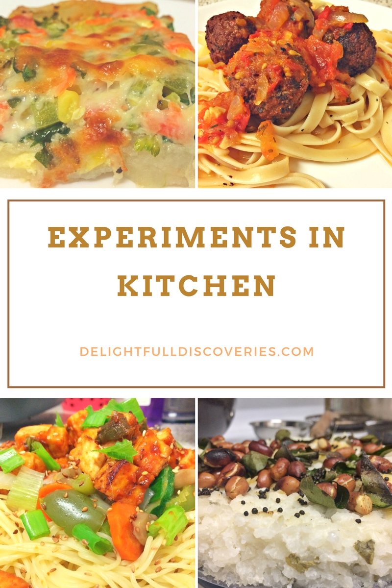 experiments in kitchen