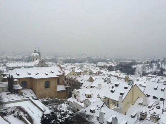 Blick auf Prag