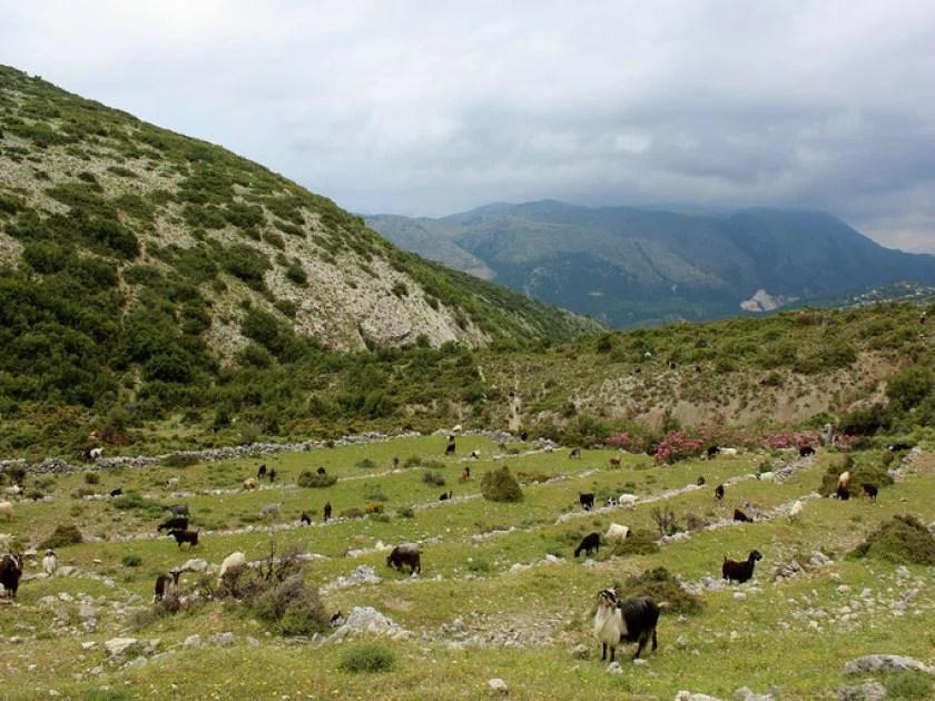albanien wanderung