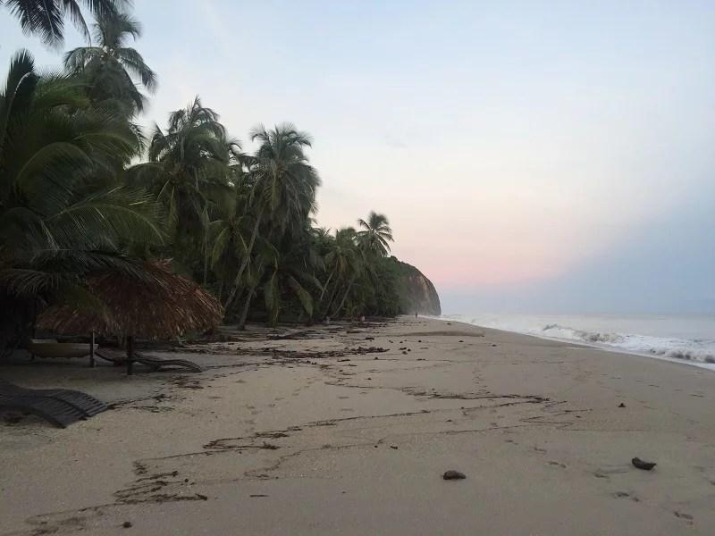 Strand Kolumbien