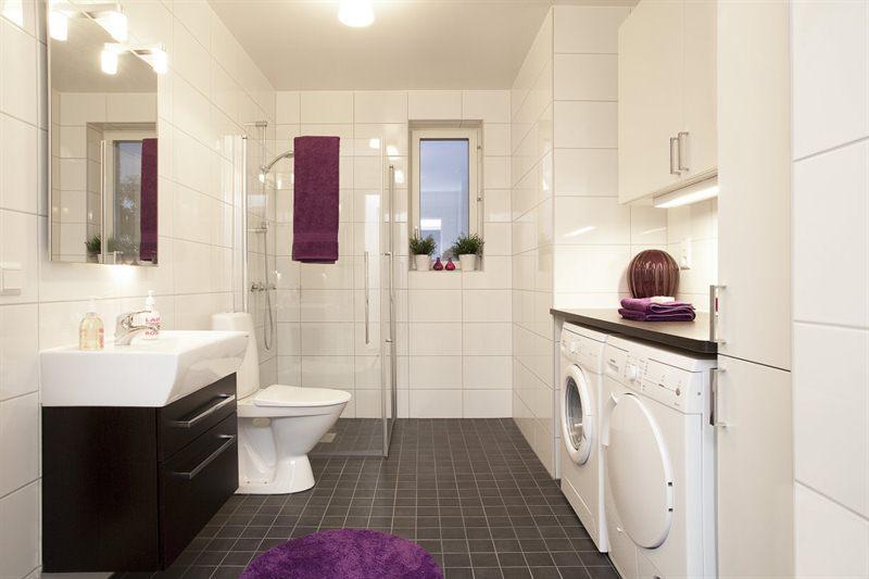 Cuartos de baño con lavadora - Blog tienda decoración estilo nórdico -