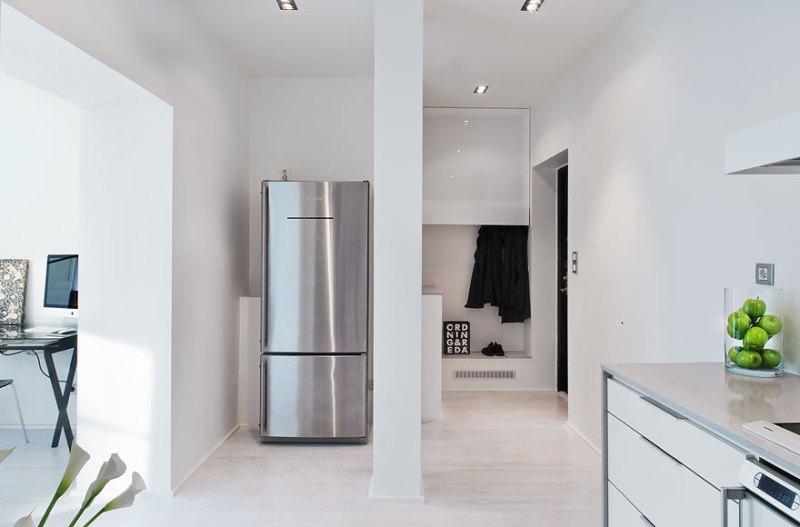 Un piso de 53 m2 minimalista sin puertas - Blog tienda decoración ...