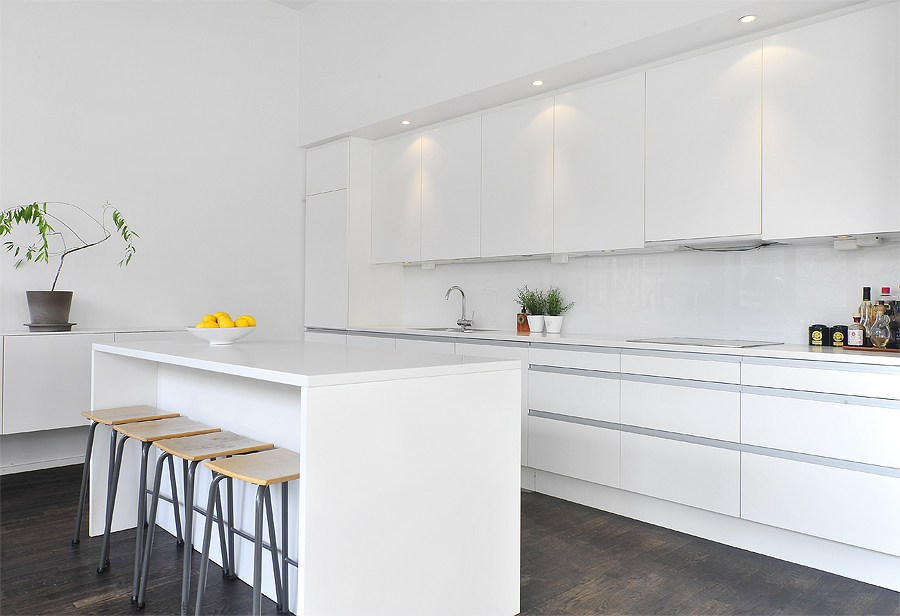 Un piso con techos altos y decorado con mucho estilo   blog ...