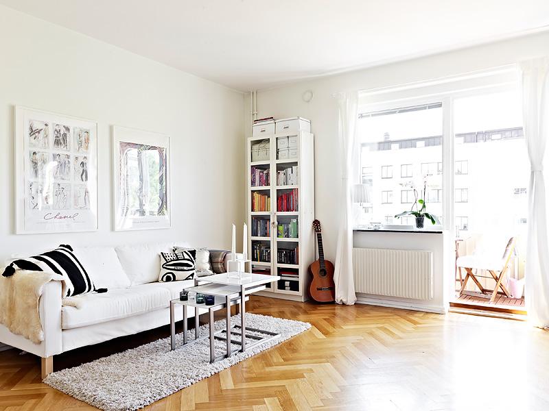 Piso de 36m con cama escondida en un armario blog - Cama escondida en mueble ...
