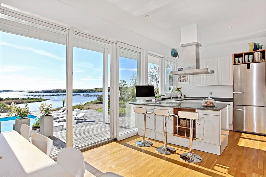 Villa de estilo n rdico junto al mar blog tienda - Casas estilo nordico ...