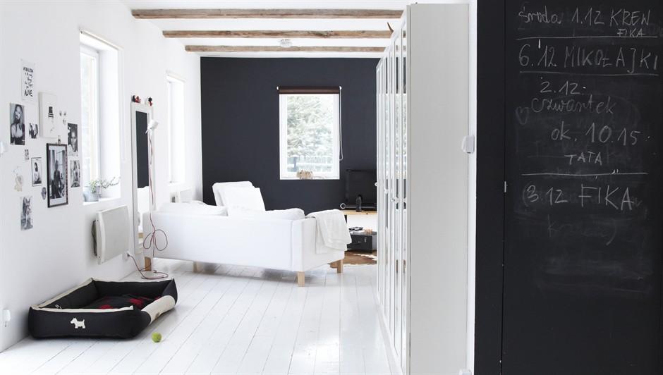 Decoraci n minimalista y ordenada blog decoraci n estilo - Salones en blanco y negro ...