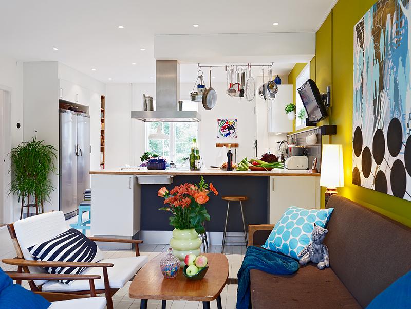 Decoraci n n rdica en colores vibrantes blog tienda - Decoracion nordica escandinava ...