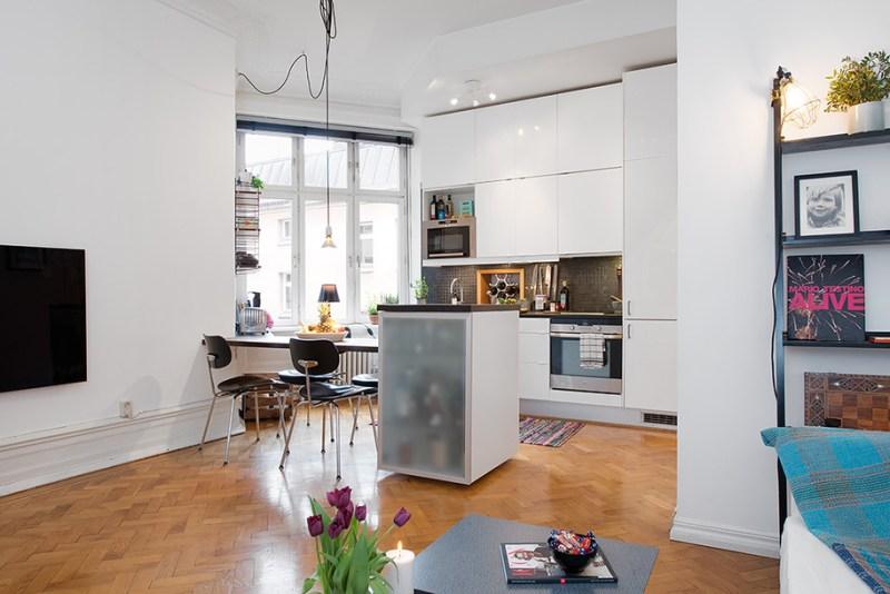 Distribucion Piso Pequeno De 43 M2 Blog Tienda Decoracion Estilo - Decorar-pisos-pequeos