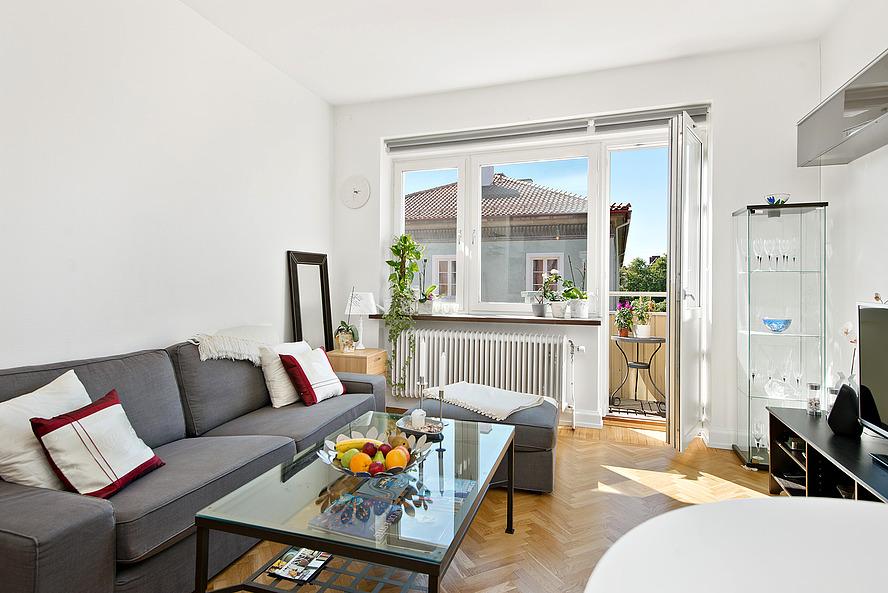 Vivir s lo en un piso de 44 m blog decoraci n estilo - Interiorismo pisos pequenos ...