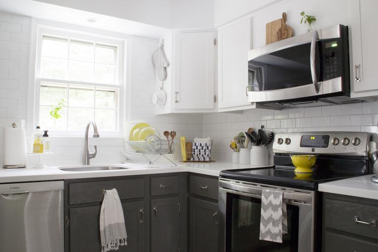 Antes/después   una cocina moderna y fresca   blog decoración ...