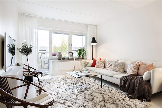 Un apartamento de estilo nor etnic n rdico tnico - Salon nordico ikea ...
