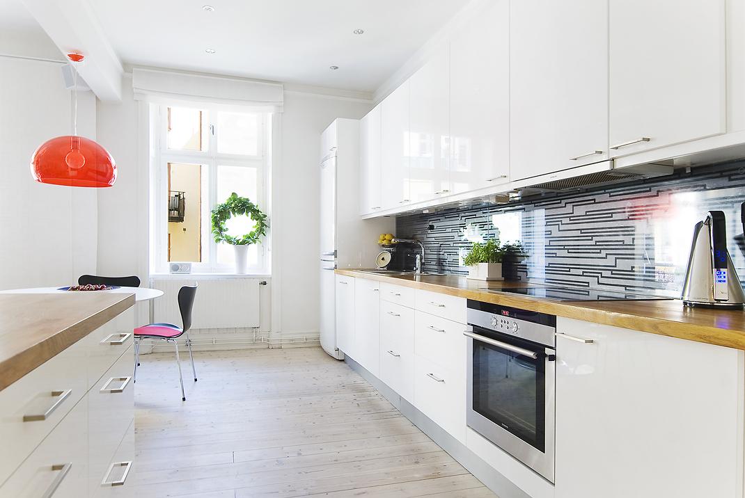 73 m² de estilo nórdico de planta abierta - Blog tienda decoración ...