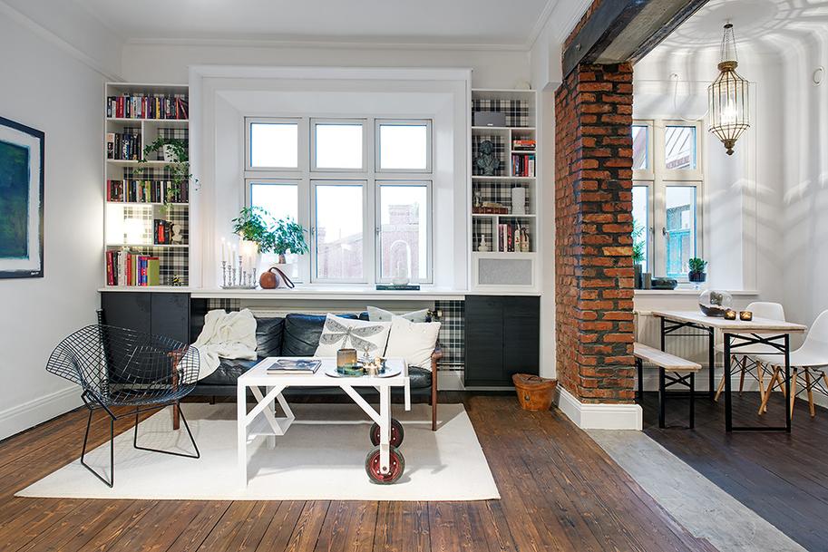 Interiorismo elementos de estructura a la vista blog for Barras modernas para living