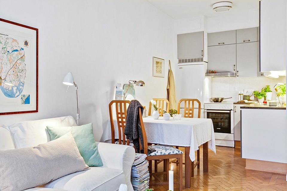Un mini piso de 38 m con mucho encanto blog tienda - Decoraciones de pisos ...