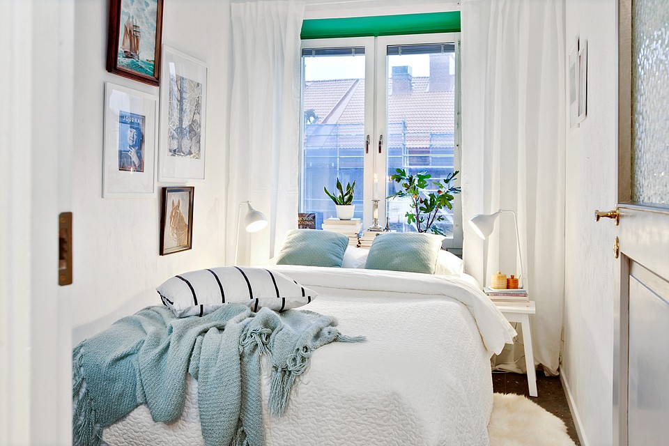 Un mini piso de 38 m con mucho encanto blog decoraci n - Pisos decorados con encanto ...