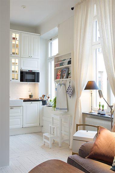 Una gran cocina en un piso de 43 m² - Blog decoración estilo ...