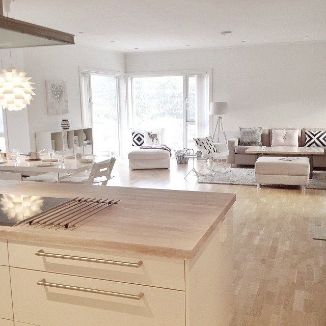 Preciosa casa n rdica en noruega blog tienda decoraci n - Casas de madera nordicas ...
