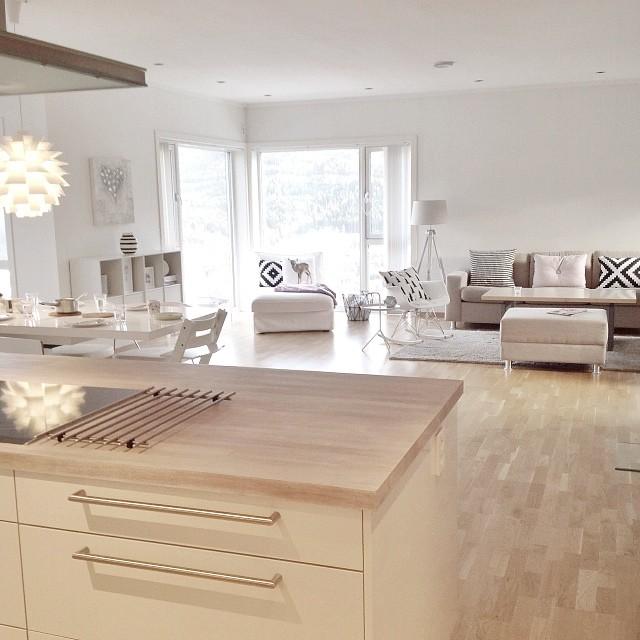 Preciosa casa n rdica en noruega blog tienda decoraci n estilo n rdico delikatissen - Casa nordica arredamento ...