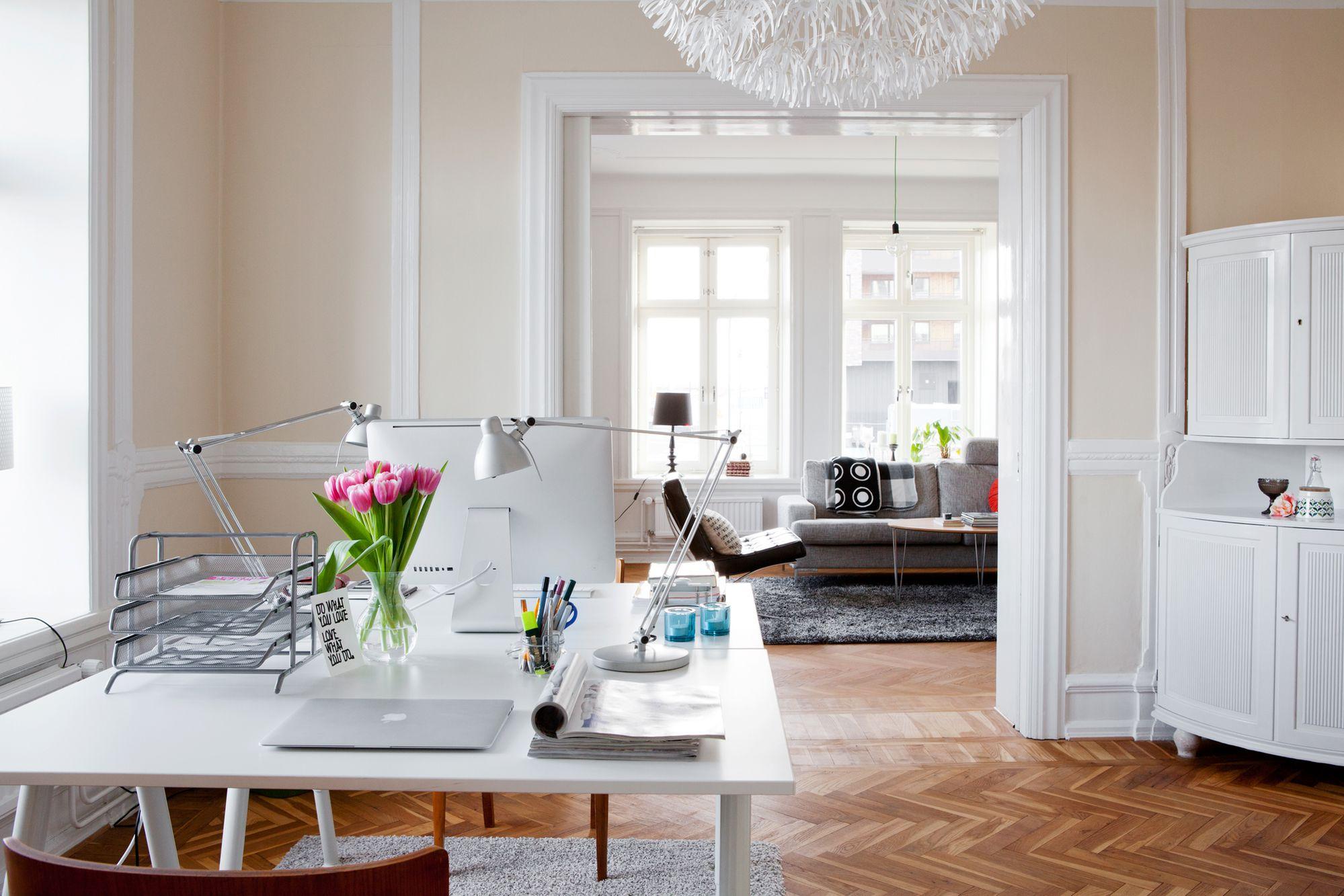 Oficina para dos en el coraz n de la casa blog for Decoracion oficinas y despachos