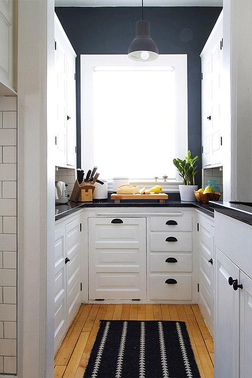 Antes despu s reforma de una cocina con pintura blog for Cocinas muy baratas