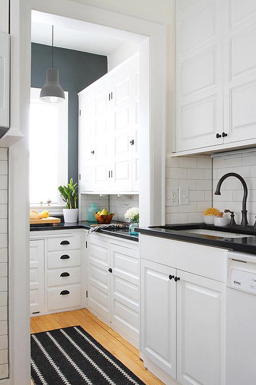 Antes/después - reforma de una cocina con pintura - Blog tienda ...