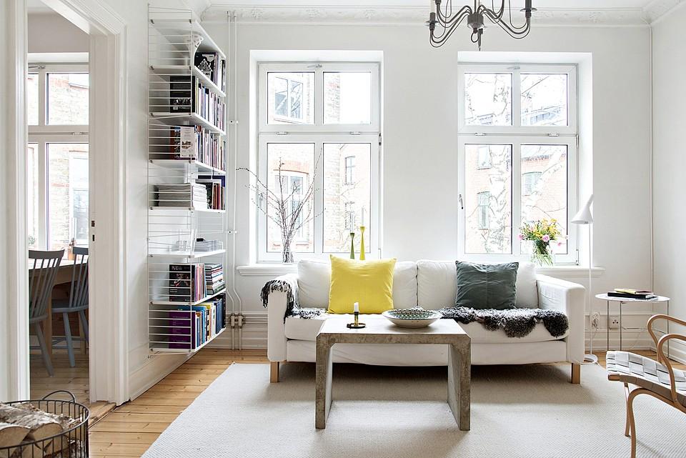Una mesa de centro de cemento   blog decoración estilo nórdico ...