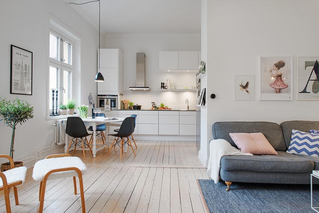 Estilo n rdico moderno en un edificio de 1885 blog - Decorar casa estilo nordico ...