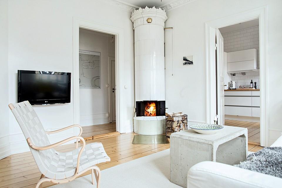 Muebles originales cemento madera delikatissen blog - Muebles diseno nordico ...