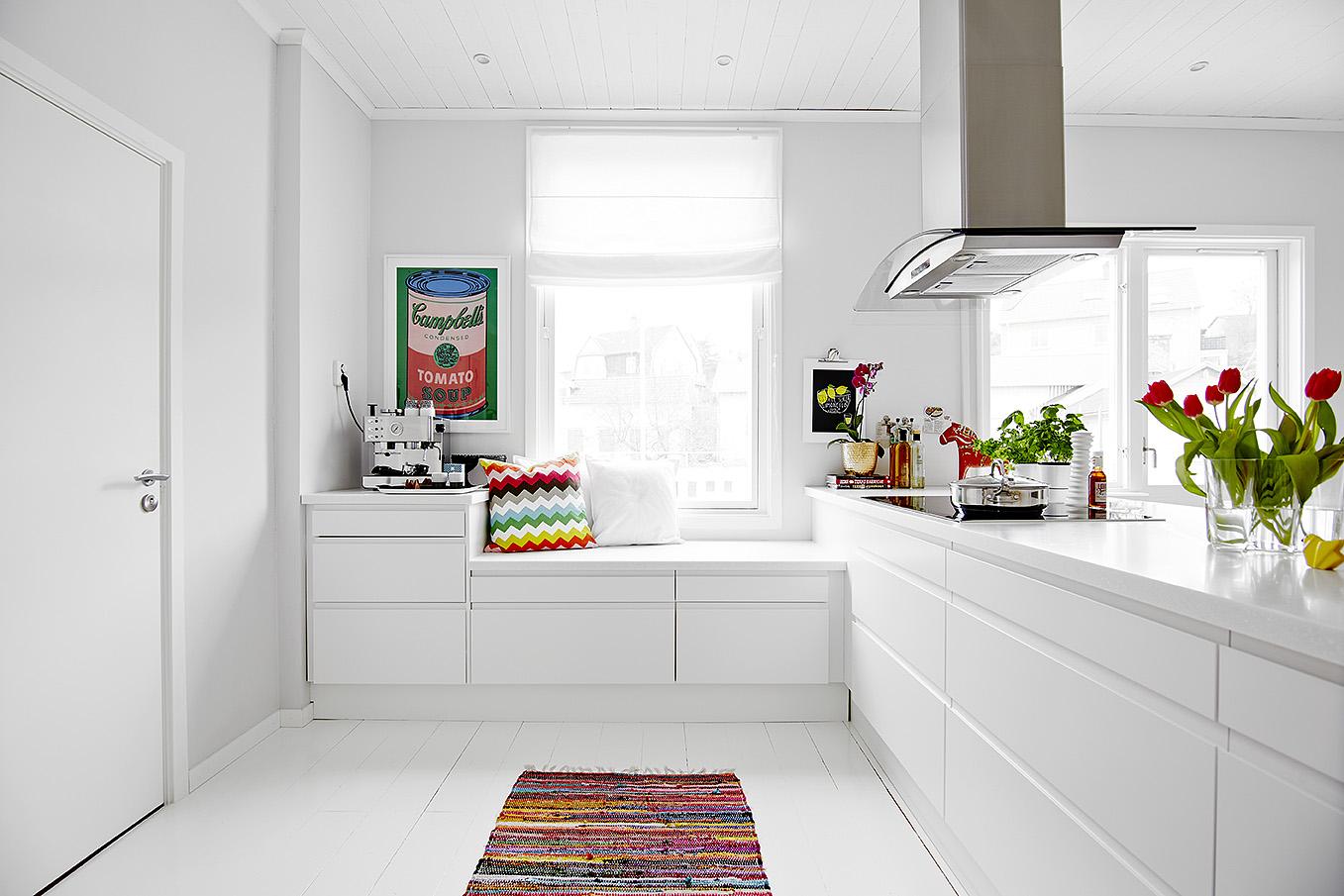 La cocina es lo importante blog tienda decoraci n estilo for Cocina blanca electrodomesticos blancos