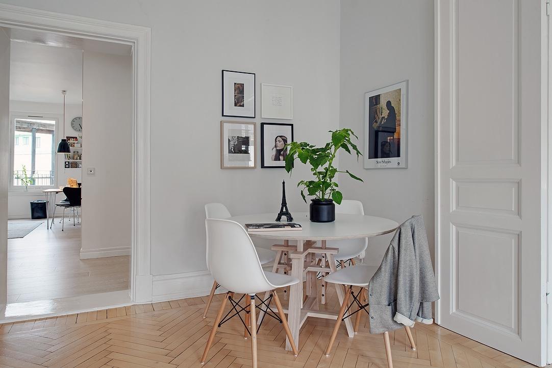 Gris y blanco siempre un acierto blog tienda decoraci n - Decorar casa estilo nordico ...