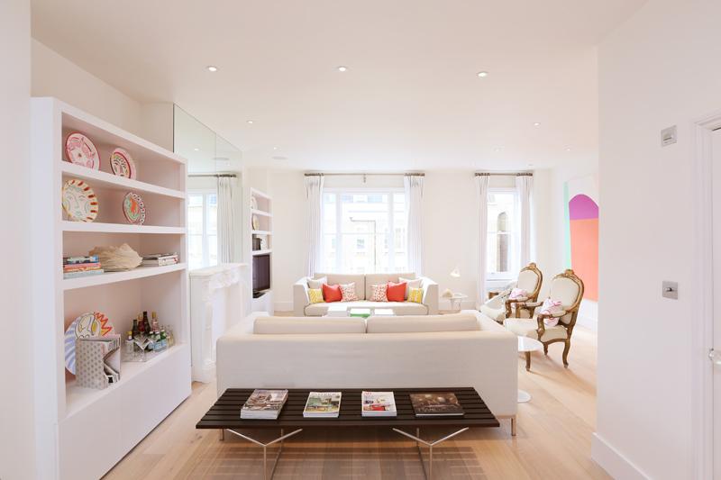 Pasteles, diseño y glamour en londres   blog decoración estilo ...
