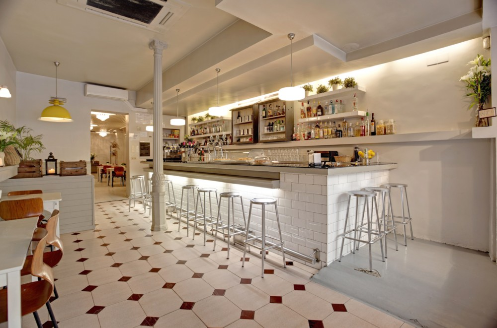 Restaurante clarita madrid blog tienda decoraci n - Decoracion bares modernos ...
