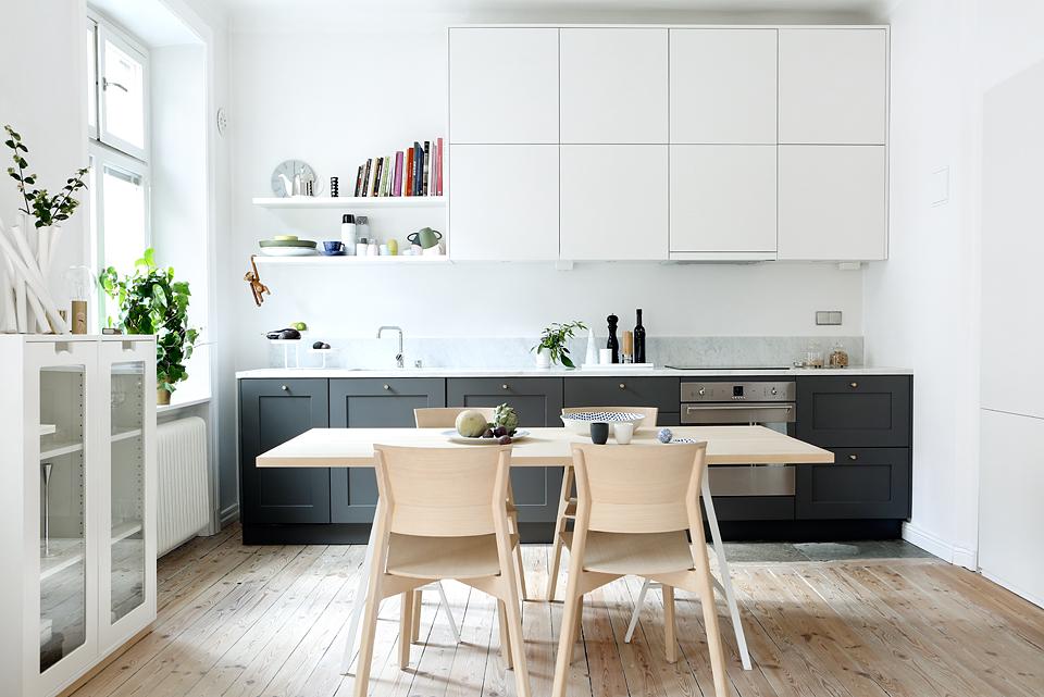 Una Cocina Nordica De Lineas Rectas Blog Tienda Decoracion