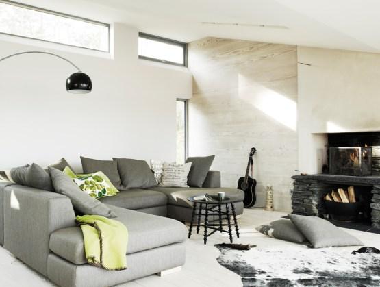 Casas r sticas modernas delikatissen blog decoraci n - Cocinas exteriores modernas ...