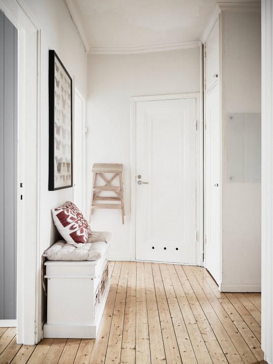 pisos de segunda mano decoración interiores pisos pequeños mini pisos estilo nórdico detalles antiguos en viviendas decoración pisos pequeños decoración en colores neutros y madera blog decoración nordica escandinava