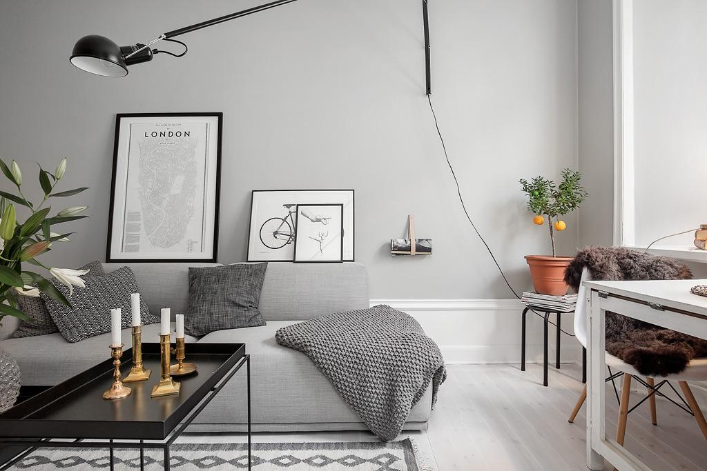 pisos pequeos distribucin piso pequeo con paredes grises paredes grises estilo nrdico estilo nrdico escandinavo diseo