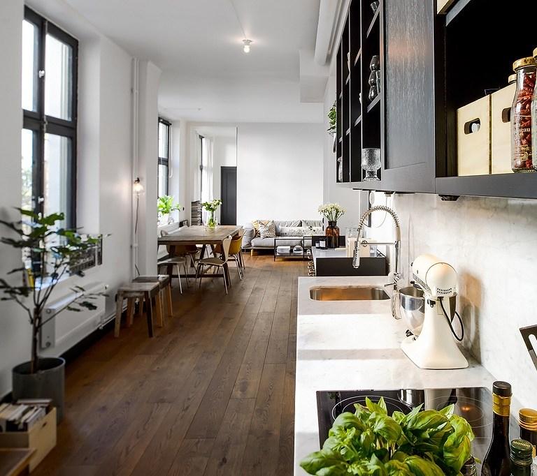 cocinas alargadas rectangulares - - Blog tienda decoración ...