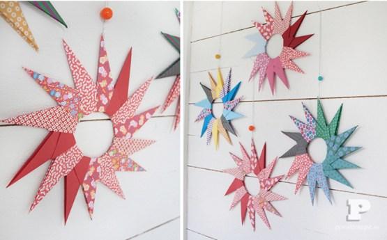 Origami Decoracion Navidad ~ origami para navidad origami para el arbol de navidad hazlo tu mismo