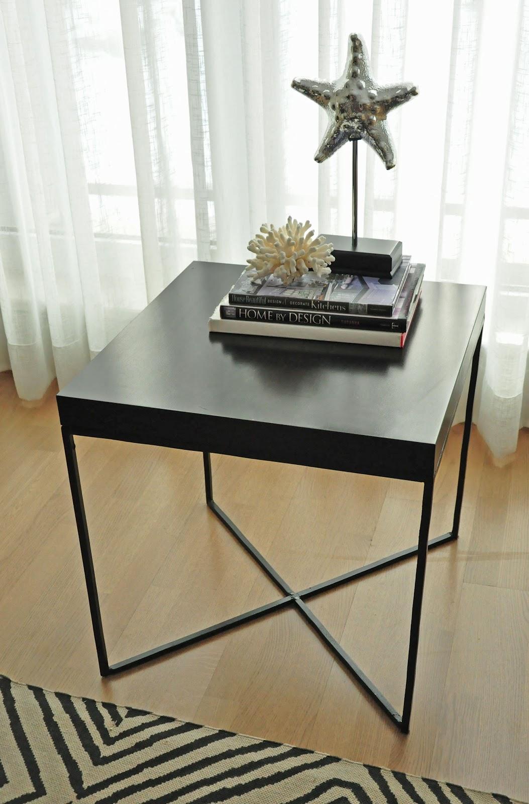 Diy ikea hack mesa auxiliar lack blog tienda - Ikea patas muebles ...