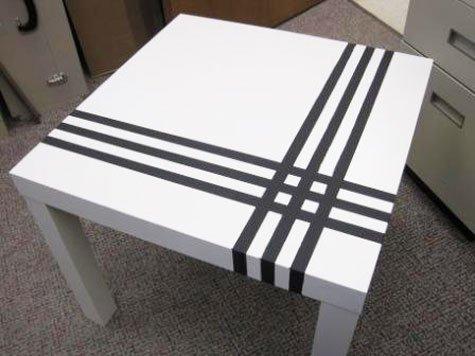 DIY - Ikea hack, mesa auxiliar Lack
