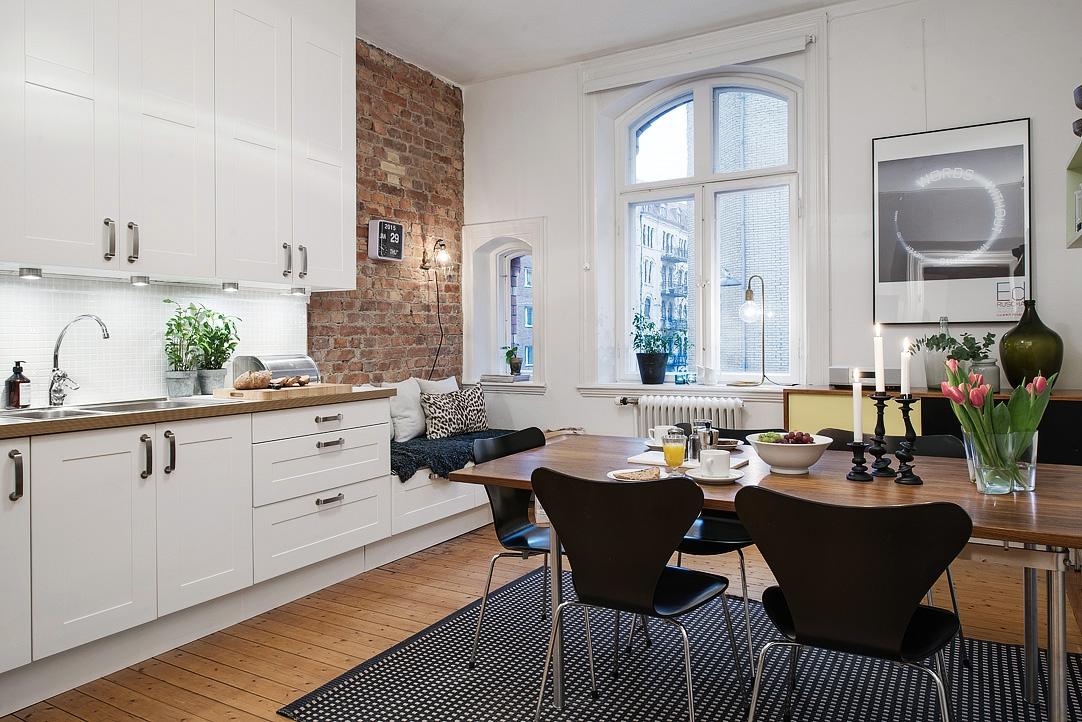 Bonito estudio de 46 m² con espacio para recibir a los amigos ...