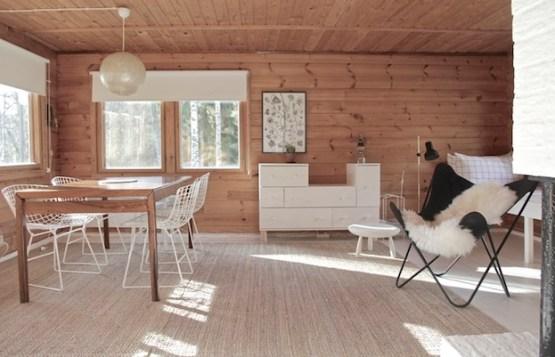 Casa de madera de vacaciones en finlandia blog - Decoracion de casas prefabricadas pequenas ...