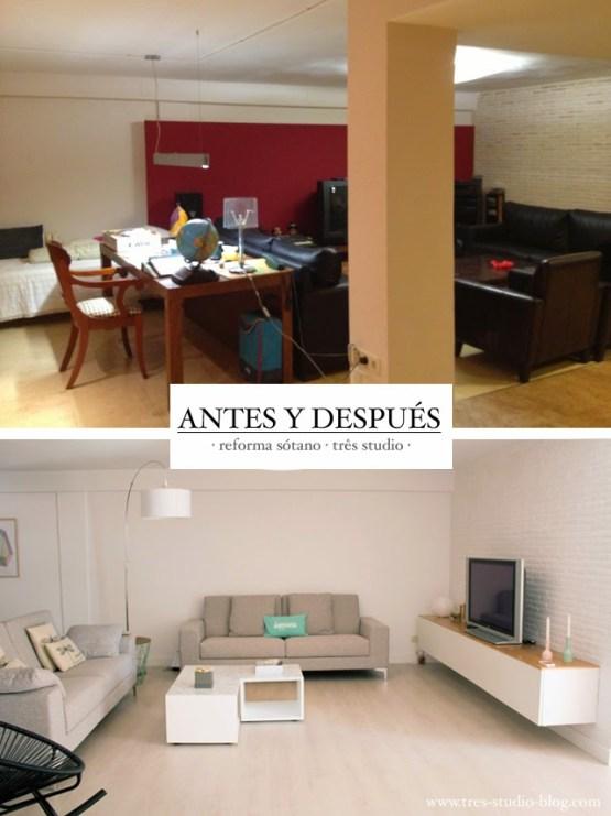 Precioso piso n rdico en el s tano de una casa en valencia for Casa decoracion valencia