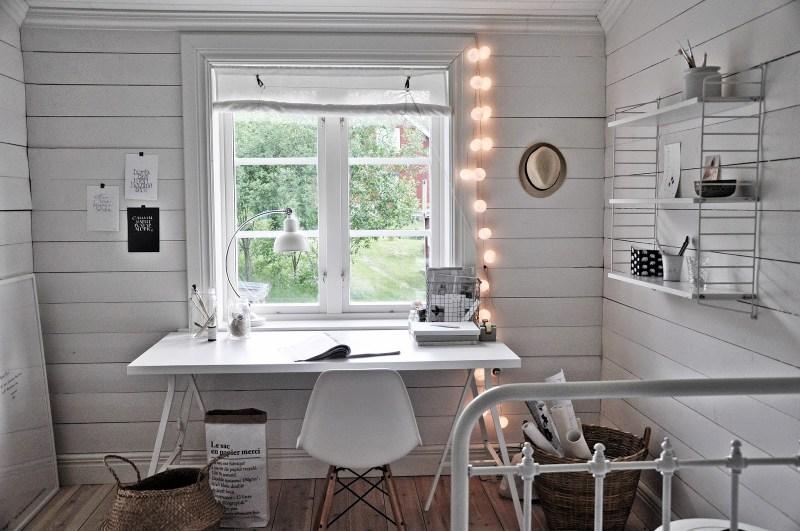 La oficina n rdica en casa blog tienda decoraci n estilo for Diseno despacho casa