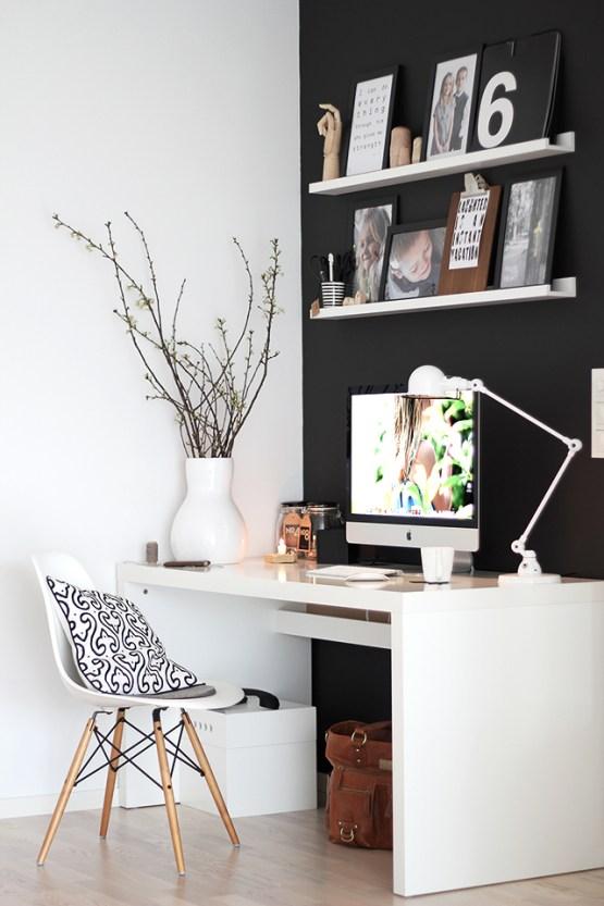 La oficina n rdica en casa blog decoraci n estilo for Decoracion oficinas y despachos