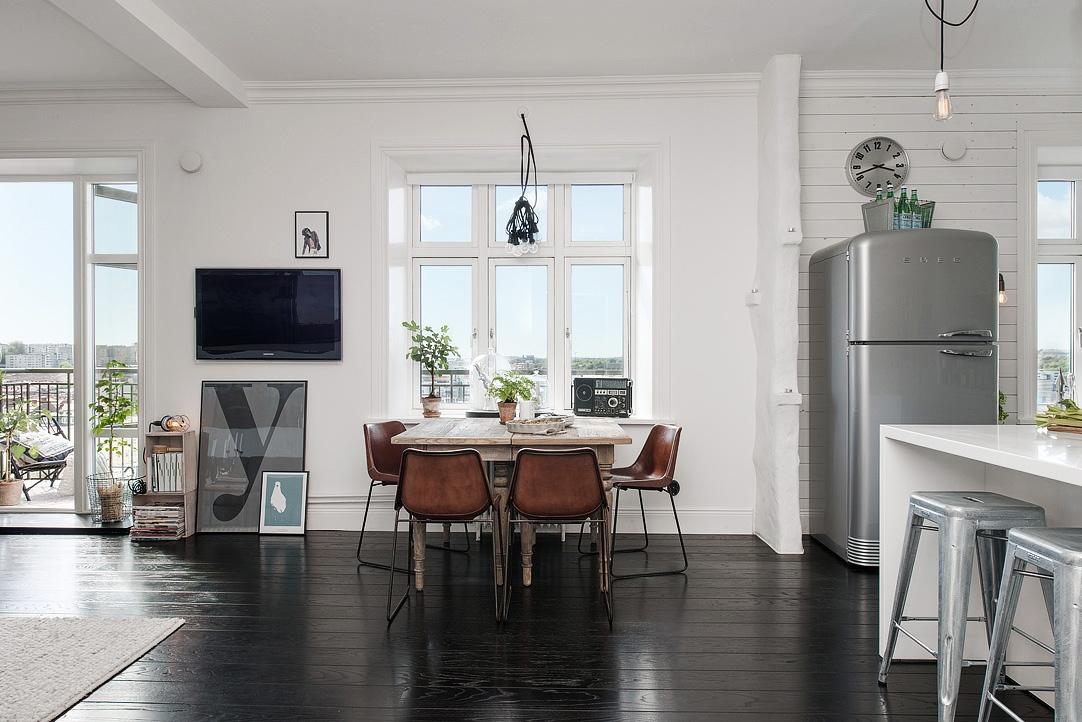 Suelo de madera negra - Blog tienda decoración estilo nórdico ...