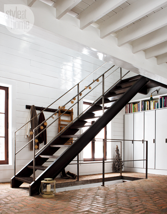 19 escaleras en pisos nórdicos   blog decoración estilo nórdico ...
