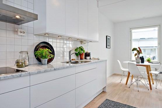 Encimeras y revestimientos en la cocina de m rmol blog - Revestimientos cocinas modernas ...