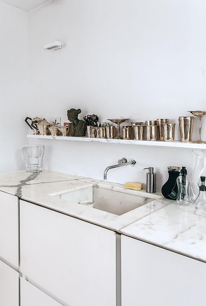 Encimeras y revestimientos en la cocina de mármol - Blog tienda ...